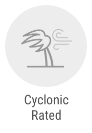 Cyclonic rated