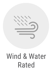 Wind and Water Rated