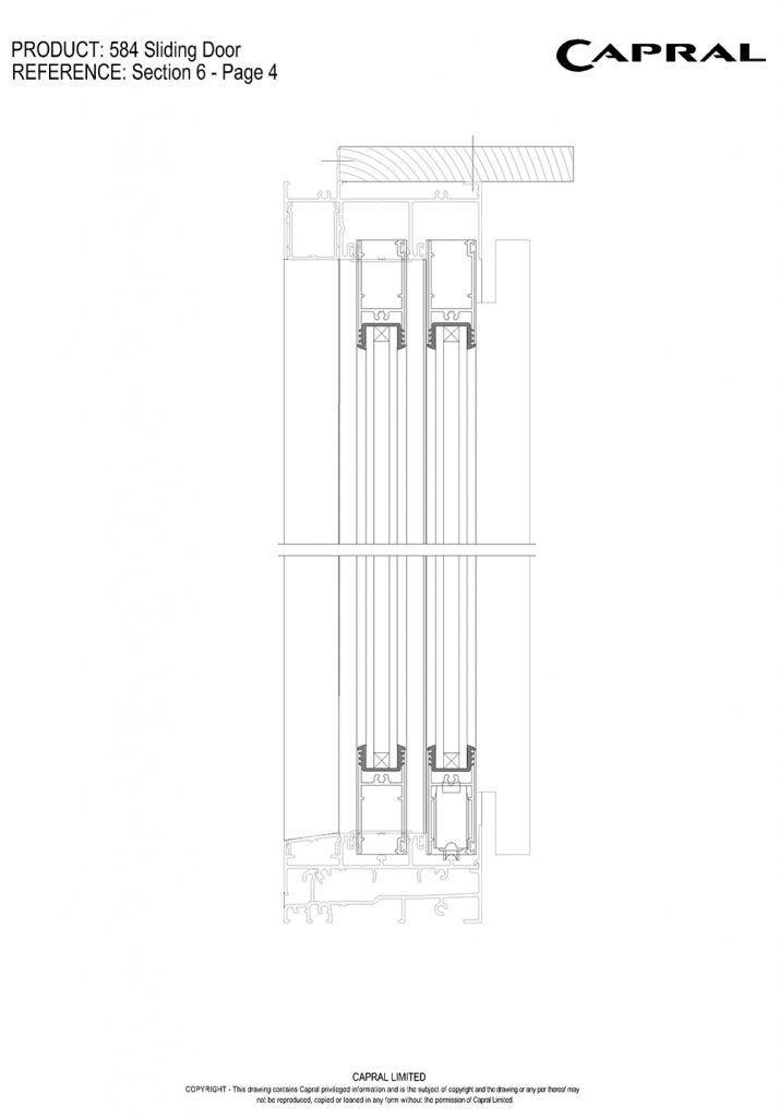 584SD-03-DG Panels Head n Sill