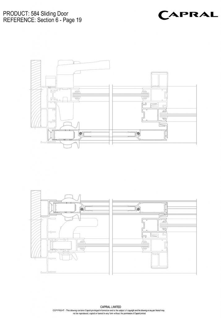 584SD-18-Barrier Door Jamb n Interlock