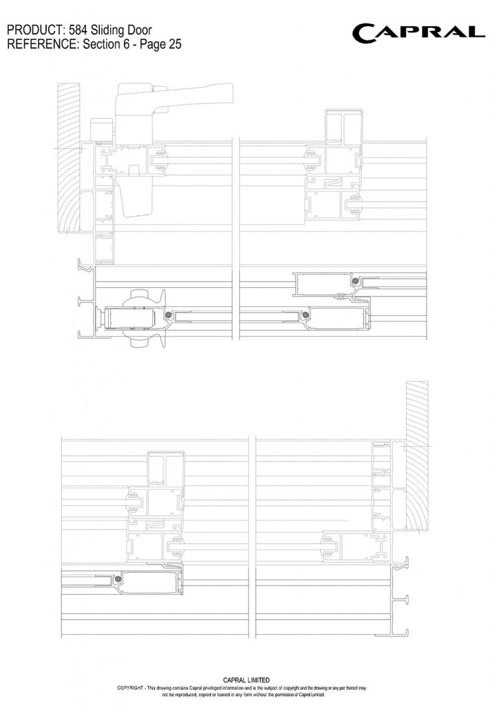 584SD-19-Stacker Barrier Door Jambs n Interlocks