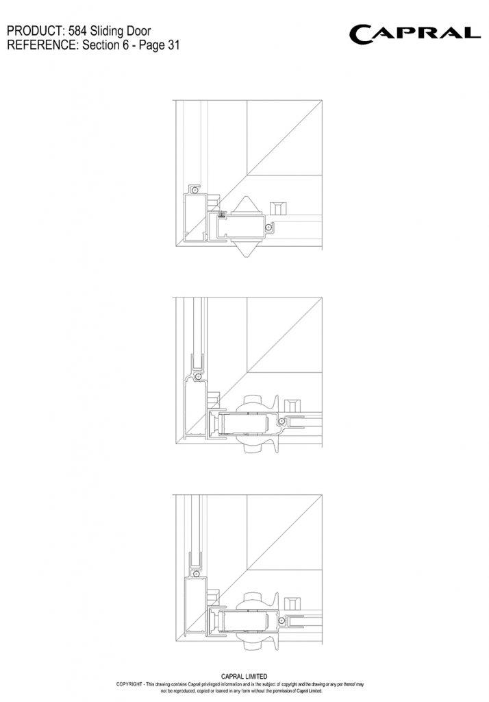 584SD-20-Screen Corner Entry