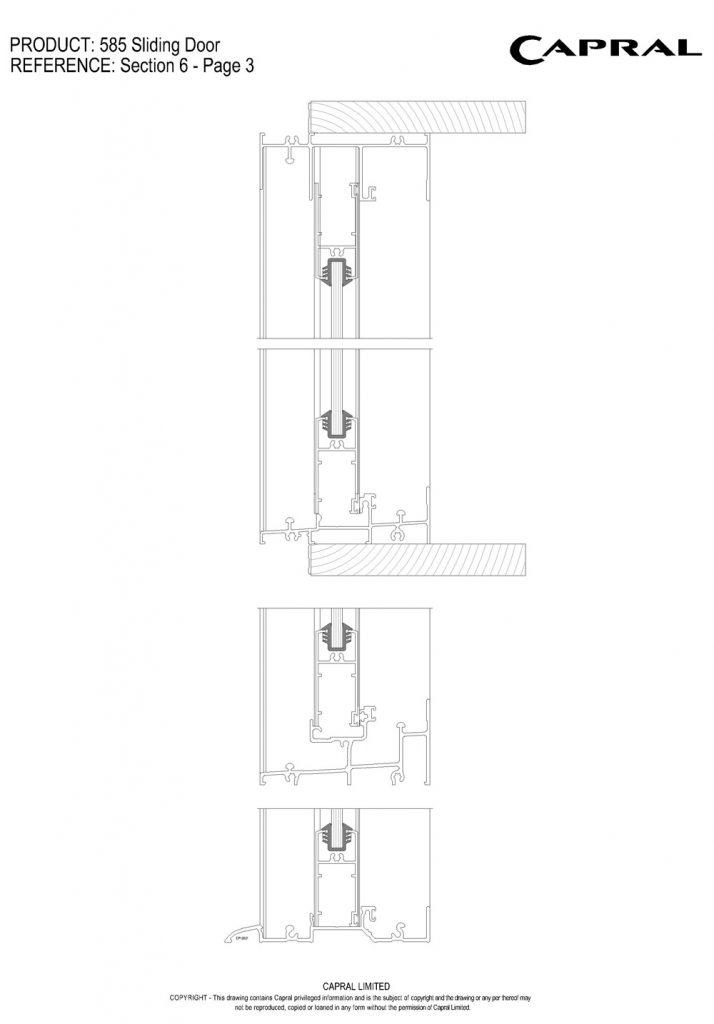 585SD-02-Fixed Panel Head n Sill