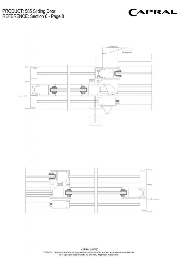 585SD-05-OXO Jambs & Mullions