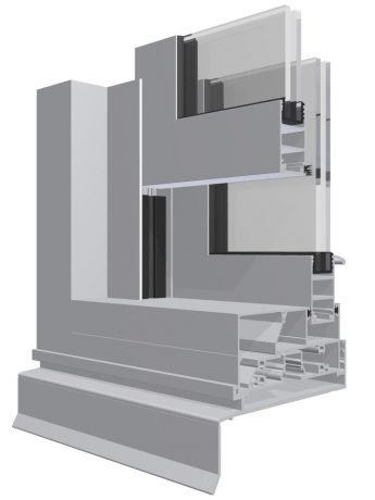 Genesis 400 Double Hung WIndow_3D_DG_Lg
