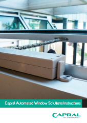Capral Automated Windows - Instructions.indd