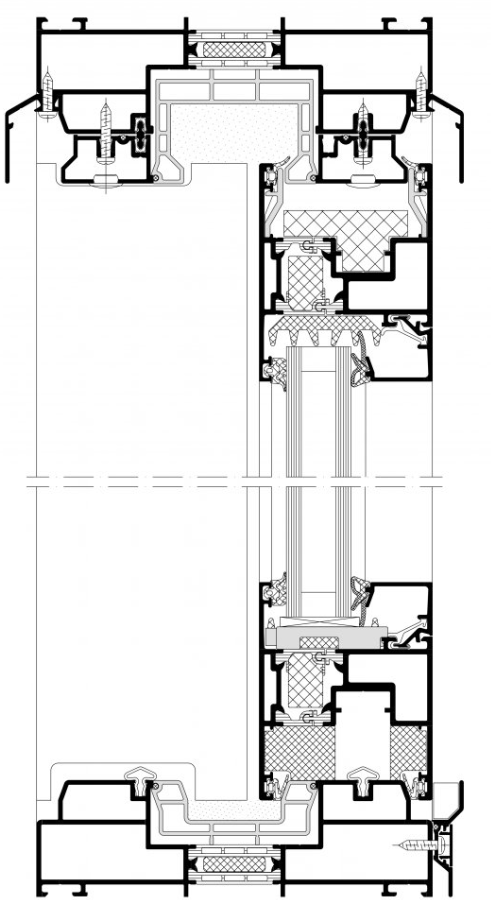 ass70lift and slide arrangement