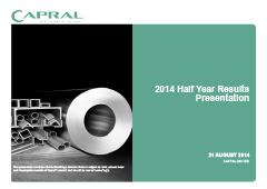 2014 Half Year Results Presentation pic
