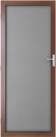 security-hinged-door