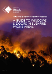 AGWA - A Guide to Windows & Doors in Bushfire Prone Areas 2018 - A4 v3 Spreads-1
