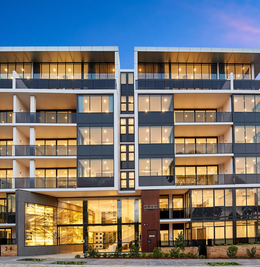Qube Apartment Complex