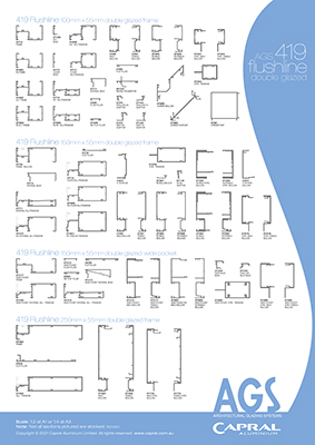 AGS_A1_WallChart_419 Flushline Double Glazed.ai